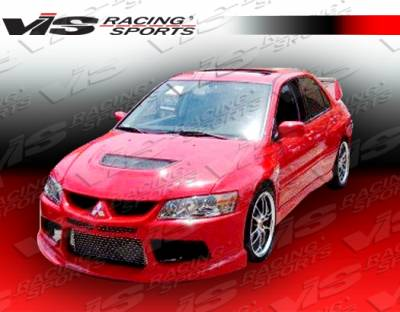 VIS Racing - Mitsubishi Evolution 8 VIS Racing Striker X Front Bumper - 03MTEV84DSTRX-001