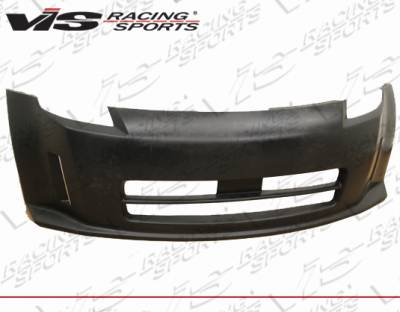 VIS Racing - Nissan 350Z VIS Racing Techno-R Front Bumper - 03NS3502DTNR-001P
