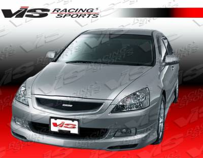 VIS Racing - Honda Accord 4DR VIS Racing Techno R-2 Front Lip - 06HDACC4DTNR2-011