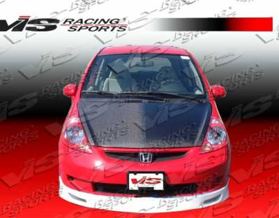 VIS Racing - Honda Fit VIS Racing Techno R-3 Front Lip - 07HDFIT4DTNR3-011