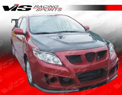 VIS Racing - Toyota Corolla VIS Racing Zyclone Front Bumper - 09TYCOR4DZYC-001