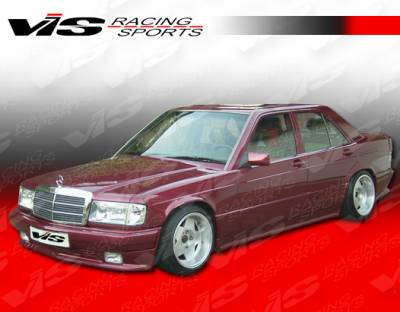 VIS Racing - Mercedes-Benz C Class VIS Racing EVO Widebody Front Bumper - 84MEW2014DEVOWB-001