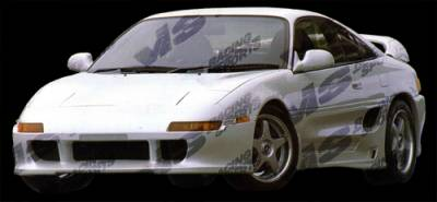 VIS Racing - Toyota MR2 VIS Racing Techno R Front Bumper - 90TYMR22DTNR-001