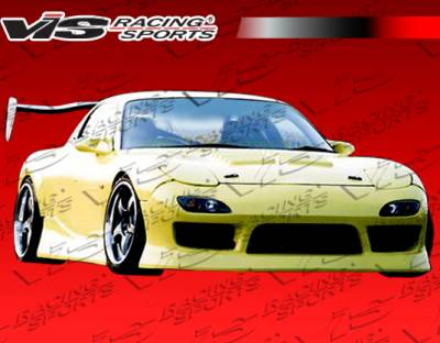 VIS Racing. - Mazda RX-7 VIS Racing B Speed Front Bumper - 93MZRX72DBSP-001