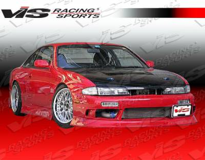 VIS Racing - Nissan 240SX VIS Racing Z Speed Front Bumper - 95NS2402DZSP-001