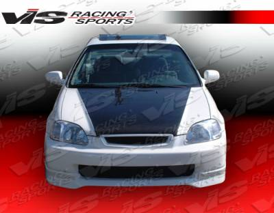 VIS Racing. - Honda Civic VIS Racing Type R Front Lip - 96HDCVCHBTYR-011