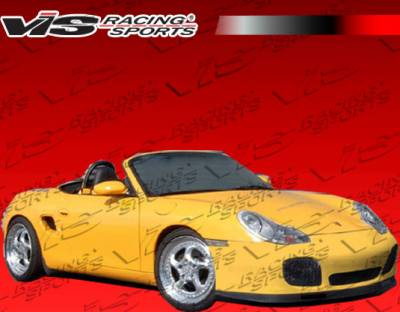 VIS Racing - Porsche Boxster VIS Racing Turbo Front Bumper - 97PSBOX2DTUR-001