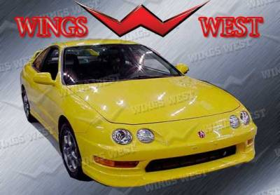 VIS Racing. - Acura Integra 2DR VIS Racing Type R Front Lip - 98ACINT2DTYR-011