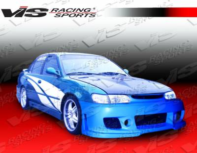 VIS Racing - Toyota Corolla VIS Racing TSC-3 Front Bumper - 98TYCOR4DTSC3-001