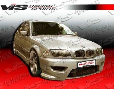 VIS Racing - BMW 3 Series 2DR VIS Racing Tachno Front Bumper - 99BME462DTNO-001