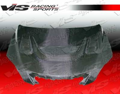 VIS Racing - Mazda 3 4DR HB VIS Racing G Speed Black Carbon Fiber Hood - 04MZ3HBGS-010C