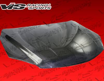 VIS Racing - Mazda 3 4DR HB VIS Racing Mazda Speed Black Carbon Fiber Hood - 07MZ3HBMS-010C