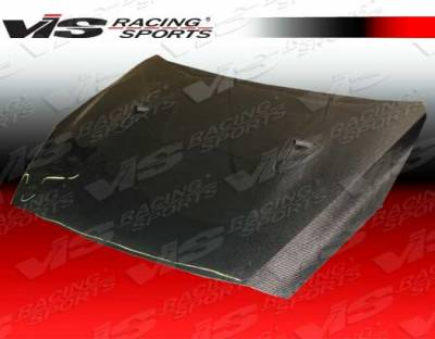 VIS Racing - Nissan Skyline VIS Racing OEM Black Carbon Fiber Hood - 09NSR352DOE-010C