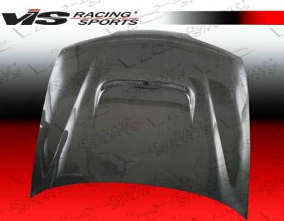 VIS Racing - Acura Integra VIS Racing Techno R Black Carbon Fiber Hood - 94ACITR2DTNR-010C
