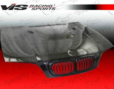 VIS Racing - BMW 3 Series 2DR VIS Racing E92 M3 Black Carbon Fiber Hood - 99BME462DE92M3-010C