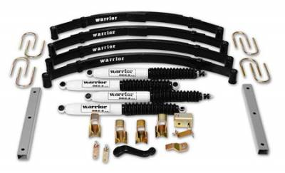 Warrior - Jeep Wrangler Warrior Front Lift Kit - 3 Inch - 30630