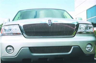 T-Rex - Lincoln Aviator T-Rex Vertical Billet Grille Insert - 60 Bars - 30715