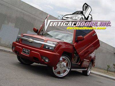 Vertical Doors Inc - Chevrolet Avalanche VDI Vertical Lambo Door Hinge Kit - Direct Bolt On - VDCCHEVYAVAL0306