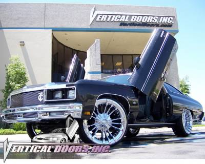 Vertical Doors Inc - Chevrolet Caprice VDI Vertical Lambo Door Hinge Kit - Direct Bolt On - VDCCHEVYCIMP7176