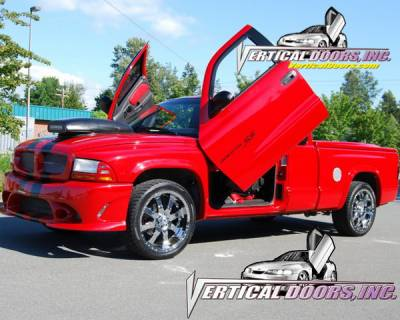 Vertical Doors Inc - Dodge Dakota VDI Vertical Lambo Door Hinge Kit - Direct Bolt On - VDCDDAKOTA9704