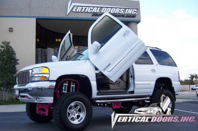 Vertical Doors Inc - GMC Yukon VDI Vertical Lambo Door Hinge Kit - Direct Bolt On - VDCGMCYUK0006