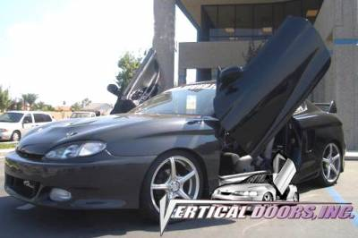 Vertical Doors Inc - Hyundai Tiburon VDI Vertical Lambo Door Hinge Kit - Direct Bolt On - VDCHYTIB9699