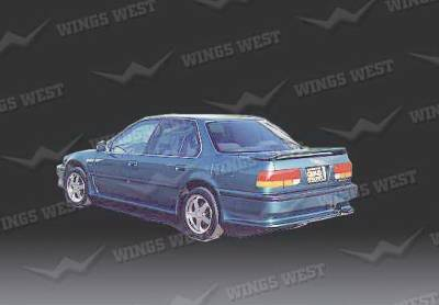 Wings West - Honda Accord Wings West Rear Lower Skirt - Fiberglass - 49202