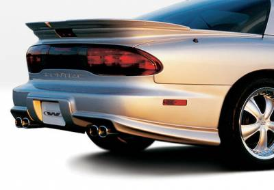 VIS Racing - Pontiac Firebird VIS Racing W-Type Rear Lower Spats Right Side - 890189R