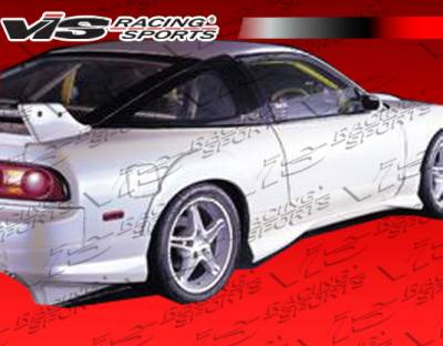 VIS Racing - Nissan 240SX HB VIS Racing Demon Rear Addon - 89NS240HBDEM-012
