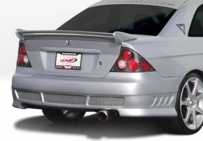 Wings West - Honda Civic 2DR Wings West Avenger Rear Bumper Cover - 890569