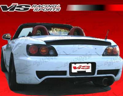VIS Racing - Honda S2000 VIS Racing ASM Rear Bumper - 00HDS2K2DASM-002