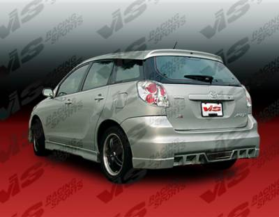 VIS Racing - Toyota Matrix VIS Racing EVO-5 Rear Bumper - 02TYMAT4DEVO5-002