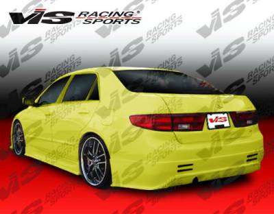 VIS Racing - Honda Accord 4DR VIS Racing Prodigy Rear Bumper - 03HDACC4DPRO-002