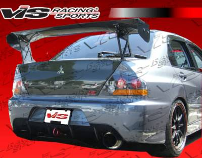 VIS Racing - Mitsubishi Evolution 8 VIS Racing MR Rear Bumper - 03MTEV84DMR-002