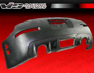 VIS Racing - Nissan 350Z VIS Racing Z Speed Rear Bumper - Carbon Fiber - 03NS3502DZSP-002CC