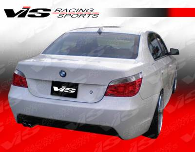 VIS Racing - BMW 5 Series VIS Racing M Tech Rear Bumper - 04BME604DMTH-002