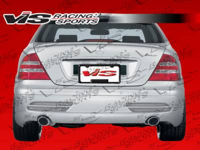 VIS Racing - Mercedes-Benz S Class VIS Racing Laser Rear Bumper - 07MEW2214DLS-002