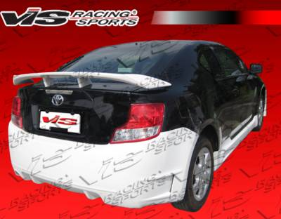 VIS Racing - Scion tC VIS Racing Cyber Rear Bumper - 11SNTC2DCY-002