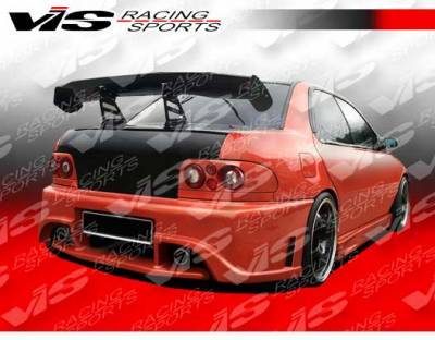 VIS Racing - Subaru Impreza VIS Racing Monster Rear Bumper - 93SBIMP4DMON-002