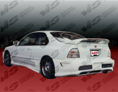 VIS Racing - Honda Accord 2DR & 4DR VIS Racing Kombat Rear Bumper - 94HDACC2DKOM-002