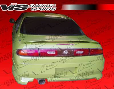 VIS Racing - Nissan 240SX VIS Racing Z Speed Rear Bumper - 95NS2402DZSP-002