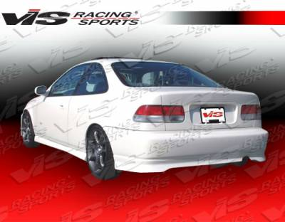 VIS Racing. - Honda Civic 2DR VIS Racing Type R Rear Bumper - 96HDCVC2DTYR-002