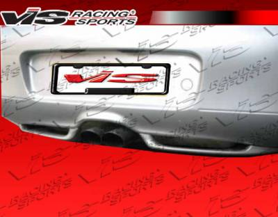 VIS Racing - Porsche Boxster VIS Racing G Tech Rear Lip - 97PSBOX2DGTH-012