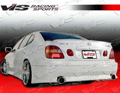 VIS Racing - Lexus GS VIS Racing V Speed Rear Bumper - 98LXGS34DVSP-002