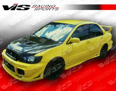 VIS Racing - Mitsubishi Lancer VIS Racing Apex Side Skirts - 02MTLAN4DAPX-004