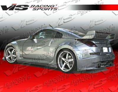 VIS Racing - Nissan 350Z VIS Racing Ravage Side Skirts - 03NS3502DRAV-004