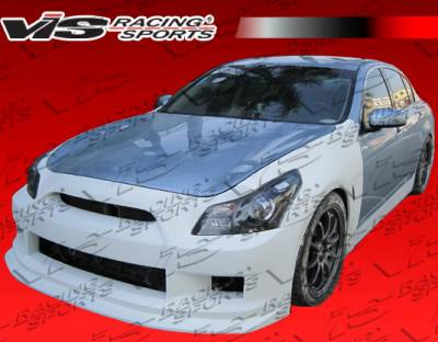 VIS Racing - Infiniti G35 4DR VIS Racing K Speed Side Skirts - 07ING354DKSP-004