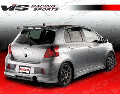 VIS Racing - Toyota Yaris VIS Racing Zyclone Side Skirts - 07TYYARHBZYC-004