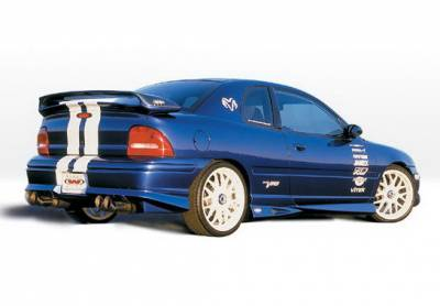 Wings West - Dodge Neon 2DR Wings West Racing Series Side Skirts - Left & Right - 890293L&R