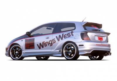 Wings West - Honda Civic HB Wings West G-55 Series Side Skirts - Left & Right - 890750L&R